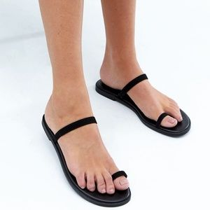 ASOS Flat Toe Loop Sandals